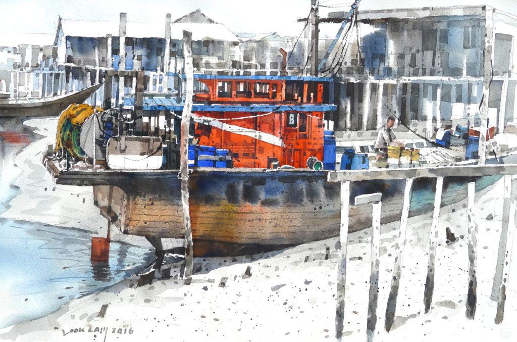 日本国際水彩画会 国際水彩画展
