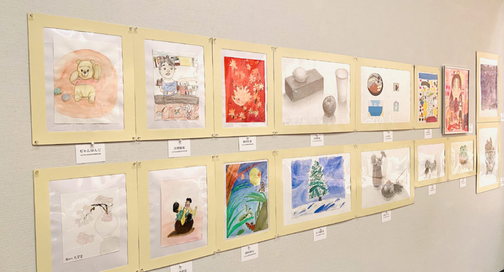 ▼国際学生児童絵画交流NET展2020の事後報告